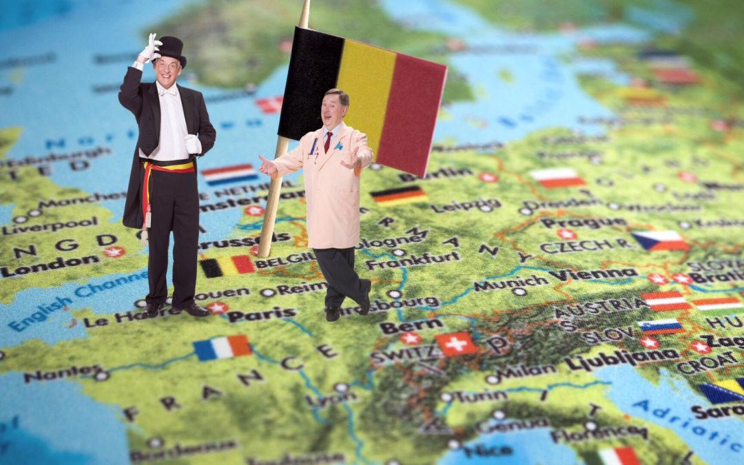 [NL-E] Schooltv – België in het kort: Vlamingen, Walen en frieten